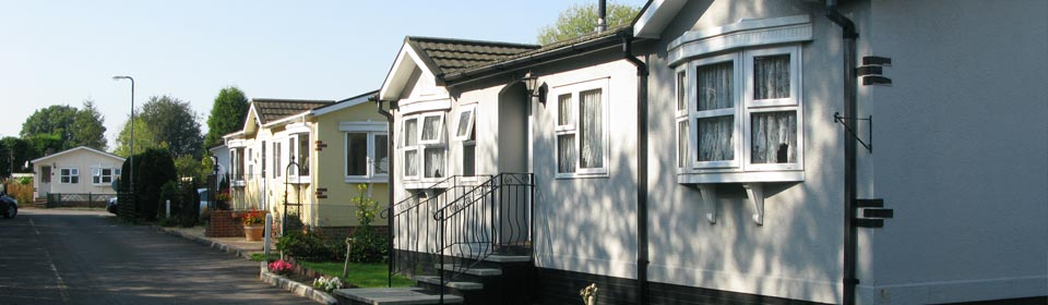 Hillcrest Park - Retirement mobile home park, Tadworth, Surrey